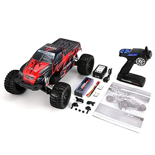 SeniorMar ZD Racing 9106-S 1/10 Thunder 4WD Brushless, used for sale  Delivered anywhere in USA