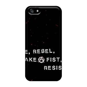 Scratch Resistant Cell-phone Hard Covers For Iphone 5/5s With Provide Private Custom High Resolution Breaking Benjamin Image CristinaKlengenberg