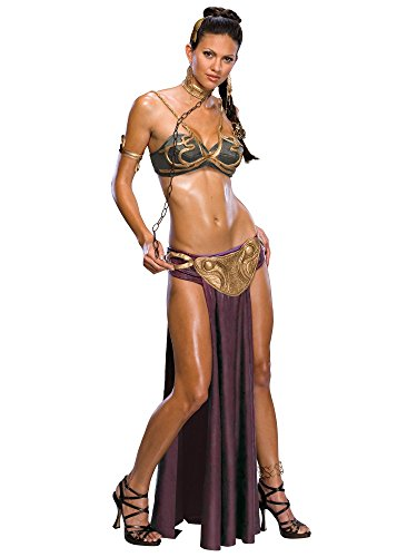 Jabba's Prisoner Princess Leia Costume, Medium