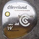 Cleveland Launcher Titanium Fairway Wood 3 Wood 3W 15° Fujikura Launcher Gold Graphite Regular Right Handed 43.5in