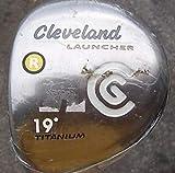 Cleveland Launcher Titanium Fairway Wood 3 Wood 3W 15° G Design Tour AD Red Ice 70 Graphite Stiff Right Handed 43.0in