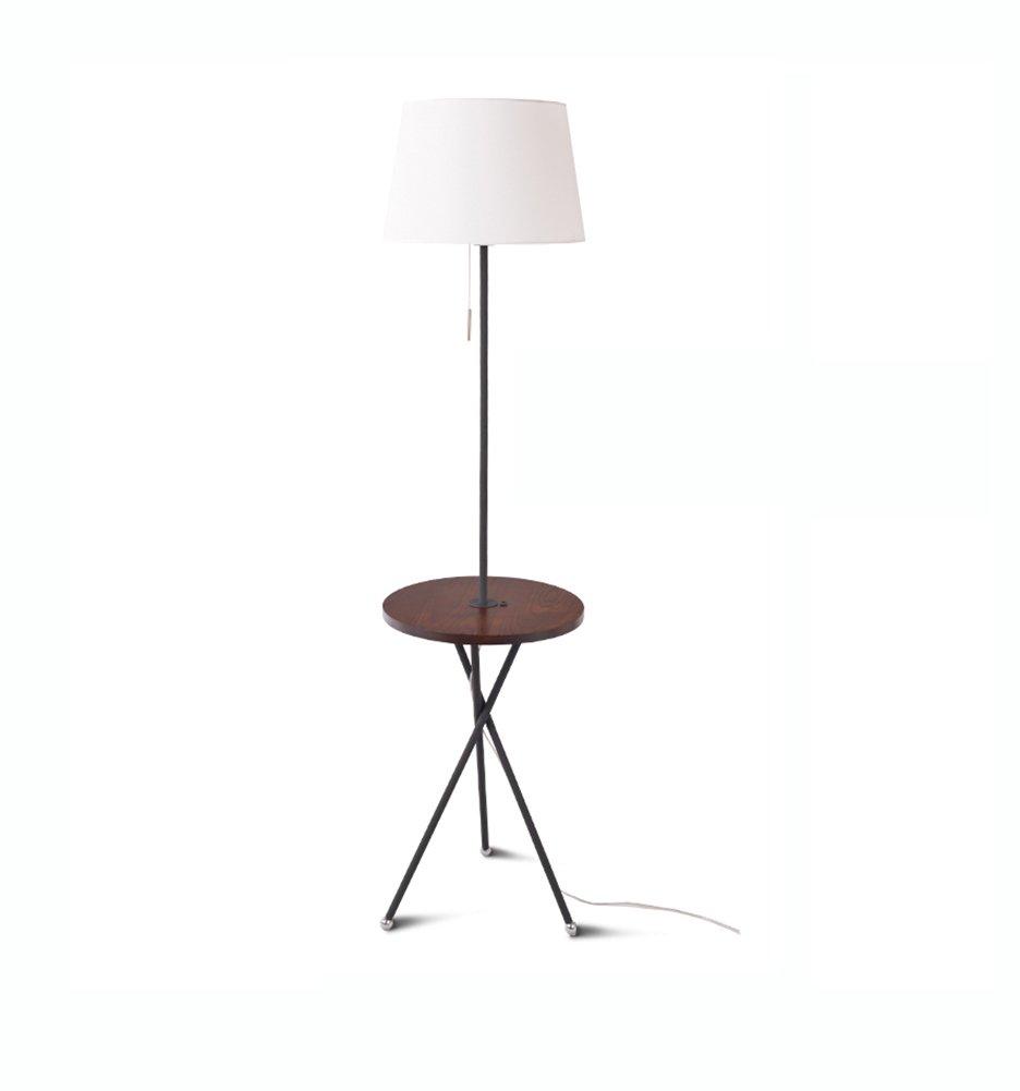 フロアランプ、コーヒーテーブルフロアランプリビングルームのベッドルーム北ヨーロッパアメリカンビレッジ和風ソファのログテーブルランプE27 (色 : #2) B07DD634WB 27696  #2