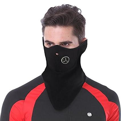 101efeba72b Unisex Ski Mask Neoprene Half Face Mask Cold Weather Outdoor Face Mask for  Skiing