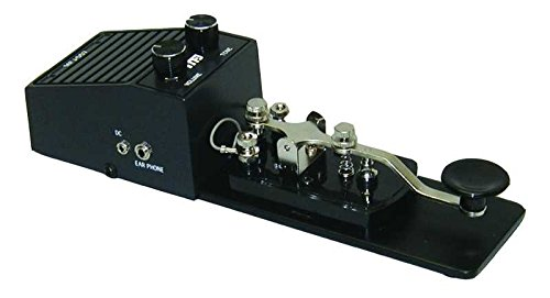 MFJ Enterprises Original MFJ-557 Deluxe Morse Code Practice Oscillator Straight Key w/ Volume Control
