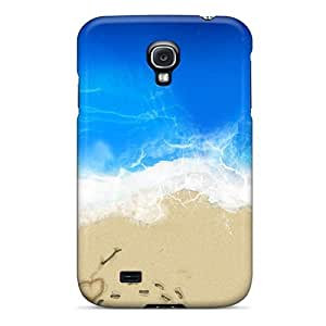 Cynthaskey Scratch-free Phone Case For Galaxy S4- Retail Packaging - Beach Lover Hd