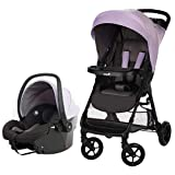 Safety 1st Smooth Ride Travel System with OnBoard 35 LT Infant Car Seat, Wisteria Lane
