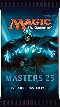 "Magic the Gathering ""Masters 25"" Factory Sealed Booster Box MTG Card Game - 24 packs"
