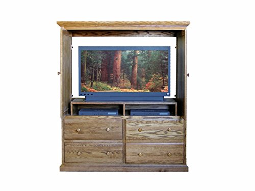 Armoires Tv Unfinished (Traditional TV Armoire: 57W x 66H x 18D Unfinished Alder)