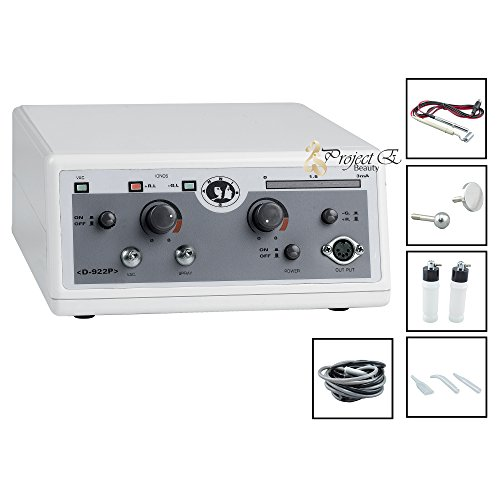 Project E Beauty Pro Galvanic Spray Vacuum Cleansing Beauty Facial Skin Care Spa Salon Machine by Project E Beauty