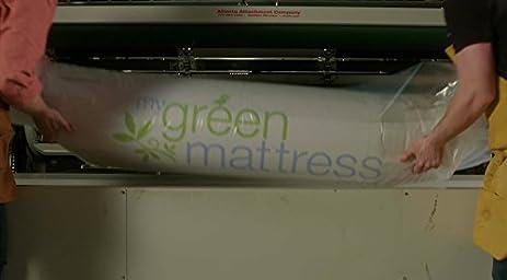 amazoncom my green mattress natural escape gots organic cotton natural ecowool and gols certified organic latex medium firm mattress king made
