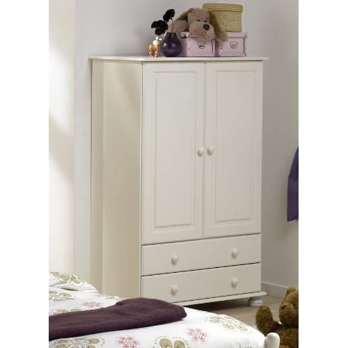 richmond white combi wardrobe - Small Wardrobe