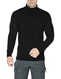 Men's Long Sleeve Essential Turtleneck Sweater Pullover
