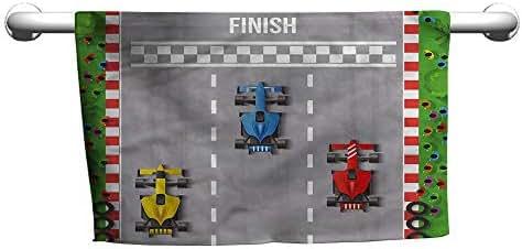 alisoso Boys Room,Hand Towel Car Race Formula One W 10