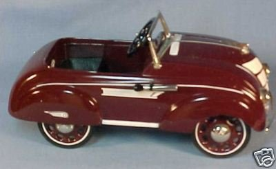 Hallmark Kiddie Car Classics 1937 Steelcraft Airflow By Murray QHG9024