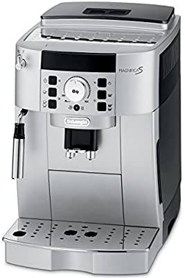 DeLonghi ECAM22110SB Compact Automatic Cappuccino, Latte and Espresso Machine from Delonghi