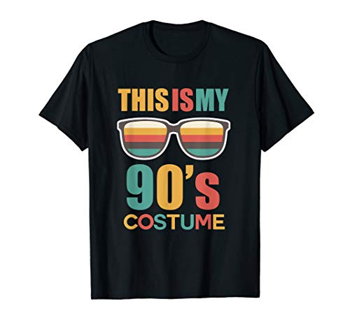This Is My 90s Costume Shirt Halloween Costume T Shirt 1990s -