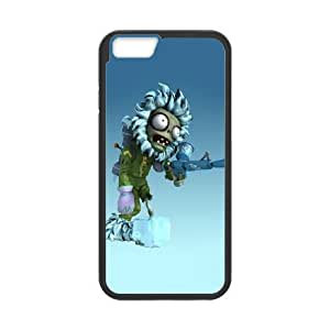 iPhone 6 plus 5.5 inch Cell Phone Case Black plants vs zombies garden warfare Popular games image WOK0686537