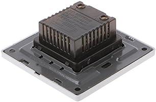 WDTong - Ventilador de techo (220 V, 200 W, interruptor de ...