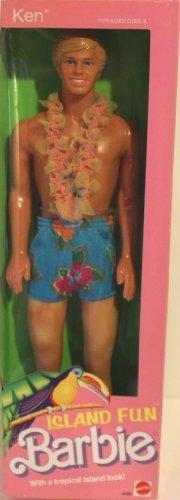 Barbie Island Fun Ken Doll No. 4060 - 1987