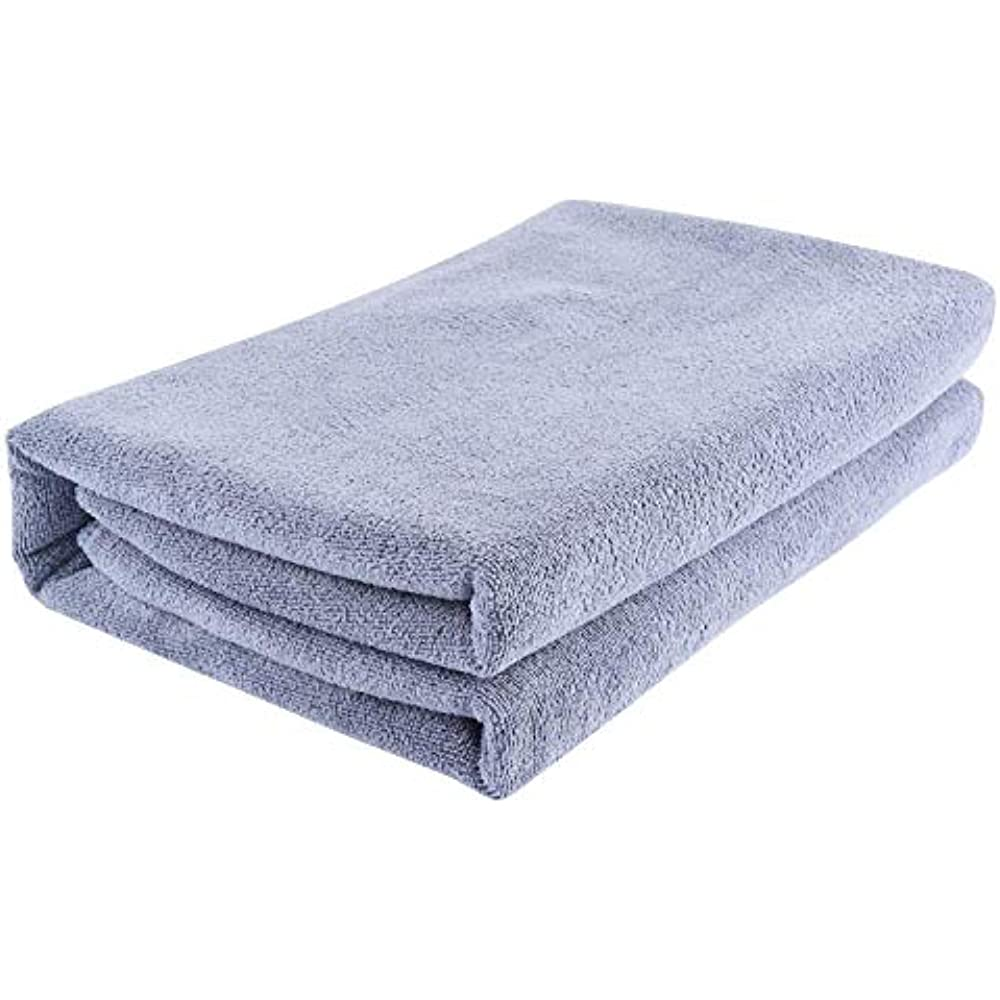 Oversized Extra Large... Microfiber Bath Towel Bath Sheets 2 Pack 32 x 71 Inch