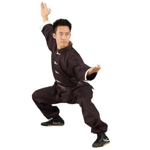 Tiger Claw Kung Fu Uniform - Black - Size 8