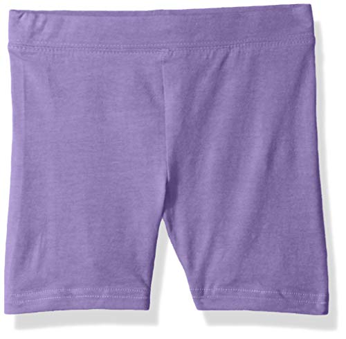 Clementine Apparel Big Toddler Girls Soft Stretch Athletic Pant Shorts