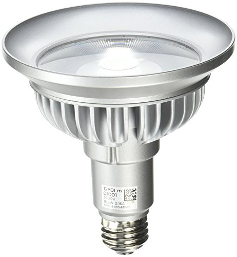 Bulbrite SP38-18-09D-830-03 SORAA 18.5W LED PAR38 3000K PREM. 9° Dimmable Light Bulb, Silver