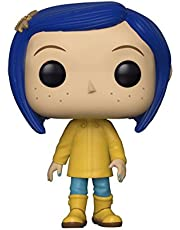 Funko Pop Movies: Coraline - Coraline in Raincoat (Styles May Vary) Collectible Figure, Multicolor