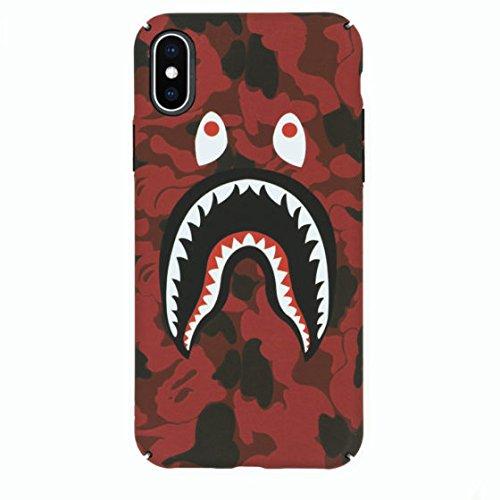 online store 7161e 07fb1 Amazon.com: Keklle iPhone X Case, A Bathing Ape (Bape) Slim ...