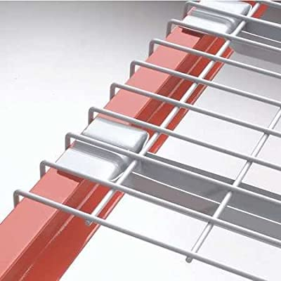 """Nashville Wire Painted Steel Wire Decking For Box Beams - 58X42"""" - Standard Capacity - Gray"""