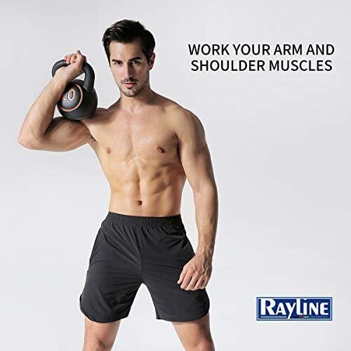Rayline Kettelbell Kugelhantel kettel-set01 15kg Training-Fitness-Bodybuilding