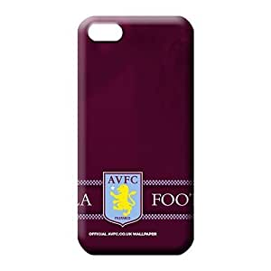 iphone 5c Shatterproof Personal New Fashion Cases mobile phone carrying covers Aston Villa FC soccer club logo