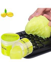 ColorCoral Gel de limpieza de silicona universal polvo pegatina teclado limpiador para PC Tablet Laptop Teclado limpiador para PC Tablet Laptop Teclado, Ventas de Coche, Cámaras, Impresoras, Calculadoras, Teléfonos Celulares, Altavoces (5.64 oz)
