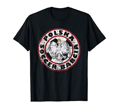Proud Polska Soccer Babcia Grandmother T-Shirt]()