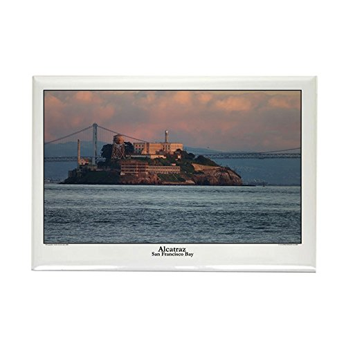 CafePress sf bay gifts - Alcatraz Rectangle Magnet Rectangle Magnet, 2