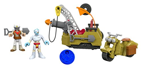Fisher-Price Imaginext Desert Super Cycle Playset