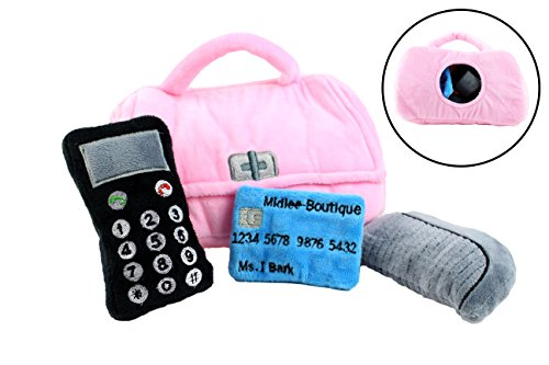 Plush Purse Find Interactive Midlee product image