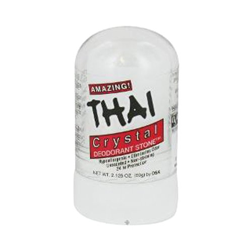 THAI 100% Natural Crystal Deodorant Stick, Mini Travel Size (2.125 Ounces)