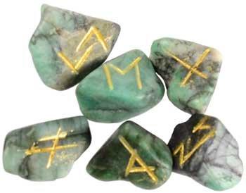 AzureGreen RREME Emerald Rune Set by AzureGreen