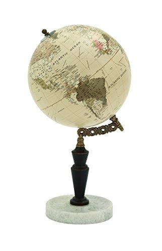 Deco 79 94452 Wood Metal Marble Globe, 8