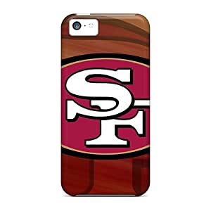 Iphone 5c AYq14081sMpQ Support Personal Customs Lifelike San Francisco 49ers Skin Excellent Hard Phone Case -InesWeldon
