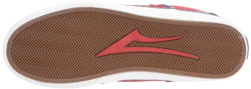 Lakai CARLO MS1120202A00 - Zapatillas de deporte de cuero para hombre Rojo (Rot (Rouge))