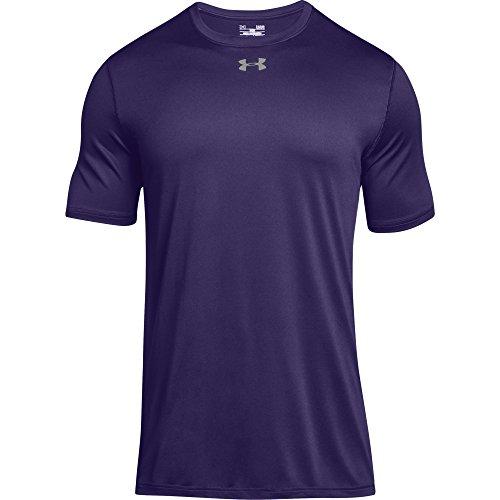 Under Armour Men's UA Locker 2.0 T-Shirt (Medium, Purple-Metallic ()