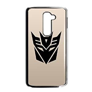 Personality customization TPU Case with Transformers Transformers LG G2 Cell Phone Case Black