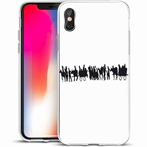 Wagons Cartwheels - LifeCO Custom Phone Case Cover for iPhone X/XS 5.8