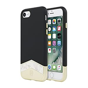 House of Harlow 1960 Slider Case (2-PC) for iPhone 7 – Black/White Marble