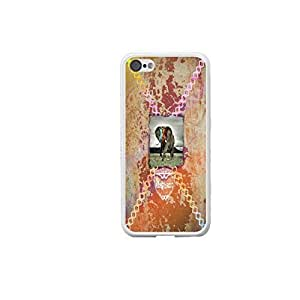 Protective Iphone 5c Phone Cover Designed Vintage Elepant for Girls