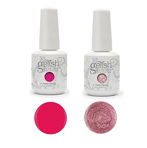 Gelish Harmony Complete Starter Led Gel Nail Polish Kit with 5 Additional Colors by Gelish (Image #1)