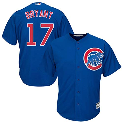Kris Bryant Chicago Cubs Cool Base Player Jersey #17- Royal