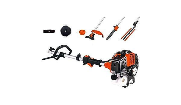 TMT - Desbrozadora multifunción de 52 cm3 8 en 1 para jardinería multifunción, herramientas de gasolina: Amazon.es: Jardín